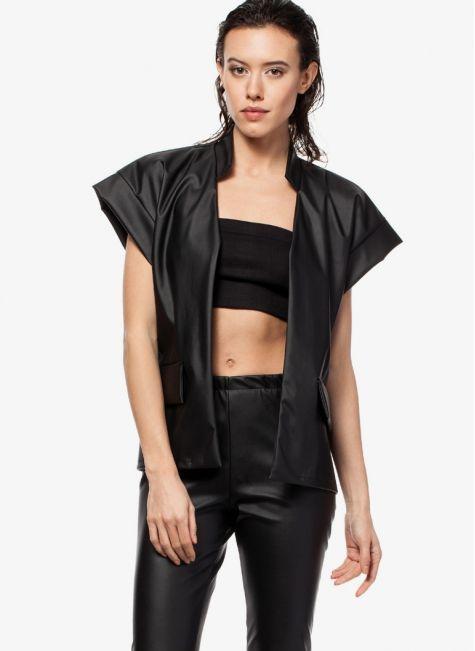 Kamizelka czarna Natty Black Vest