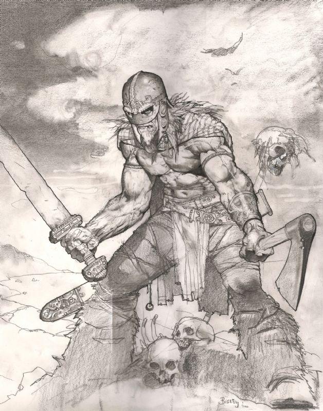 Una the Blade : Simon Bisley