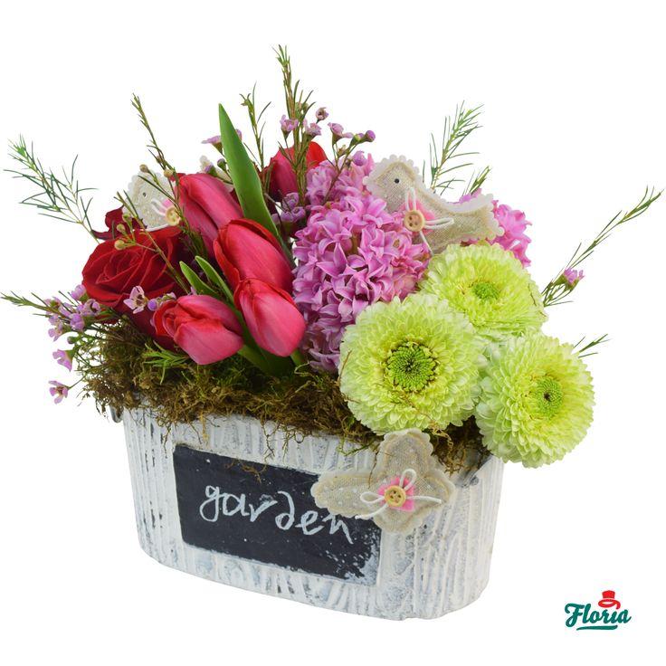 Gradinita cu flori
