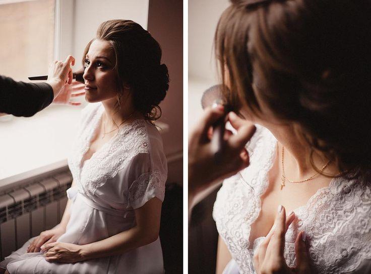 В день нашей свадьбы у меня была лучшая команда! Сборы невесты: MUAH: @may_elstile @maymuah  Ph: @starkwed @alinamper #justmarried #wedding #pogiweddingday #makeup http://gelinshop.com/ipost/1521323401720854255/?code=BUc05LUD3bv