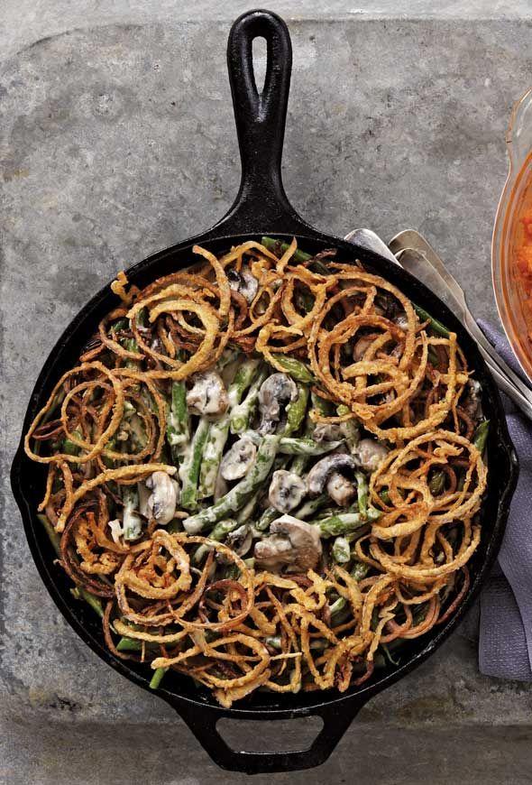 Green Bean Casserole Recipe | Alex Guarnaschelli (Green beans? Check. Creamy mushroomy sauce? Check. Can opener? Uh…no thank you. Not this Thanksgiving.)