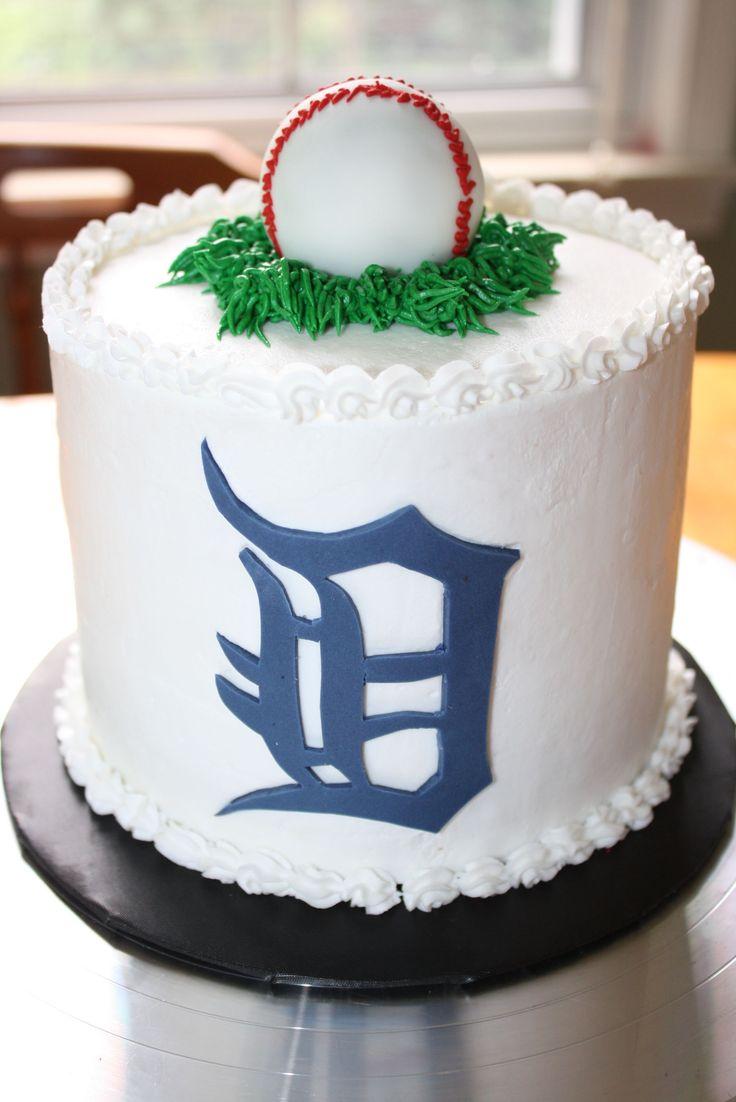 - Detroit Tiger Smash birthday cake,  tfl
