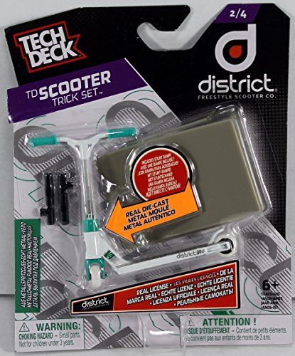 Tech Deck Scooter Trick Set – District Freestyle Scooter Co.