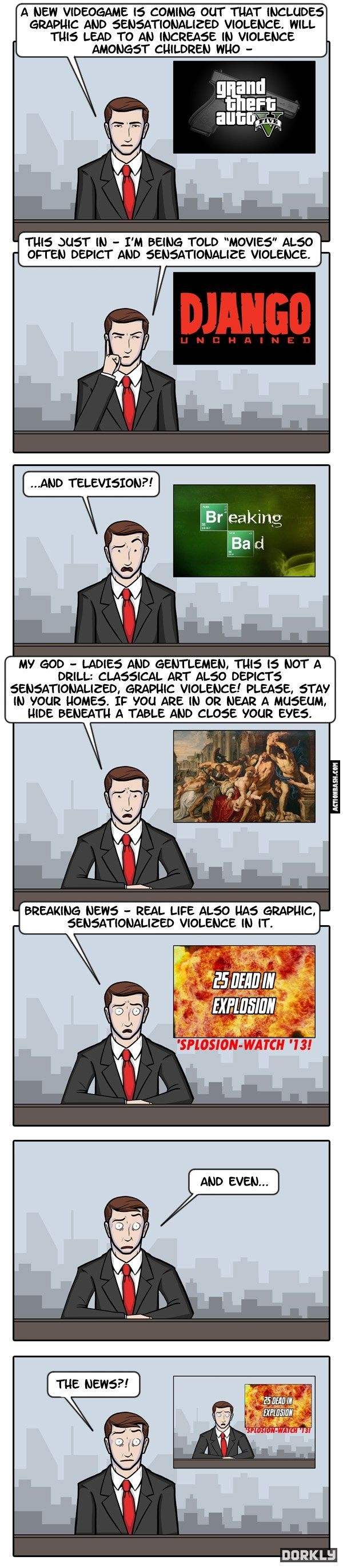 Culture of violence…