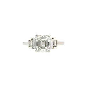 Doyle & Doyle | Ring: Vintage Emerald Cut 1.86ct Engagement Ring