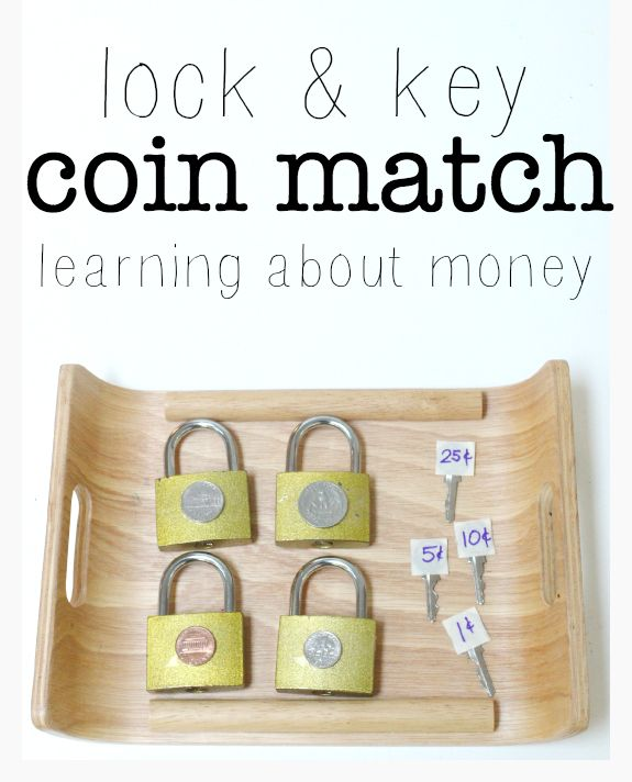 Work on coin identification with this fun self correcting activity for kids!