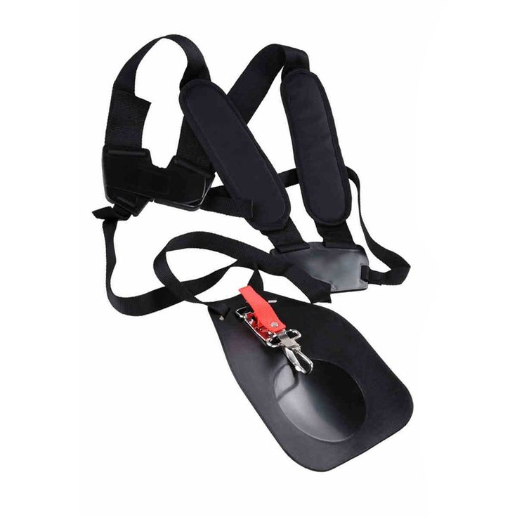 High Quality Strimmer Harness Strap Double Shoulder Strap for Brush Cutter Trimmer Lawn Mower Parts Gardden Tools