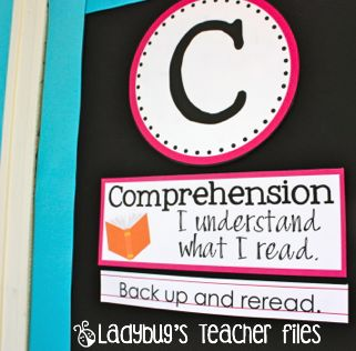 Ladybug's Teacher Files: CAFE (actually, CRAFT) Board