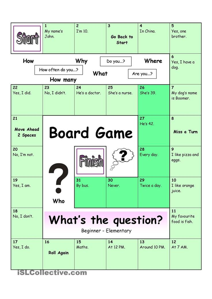 36 best Board games images on Pinterest | English grammar, English ...