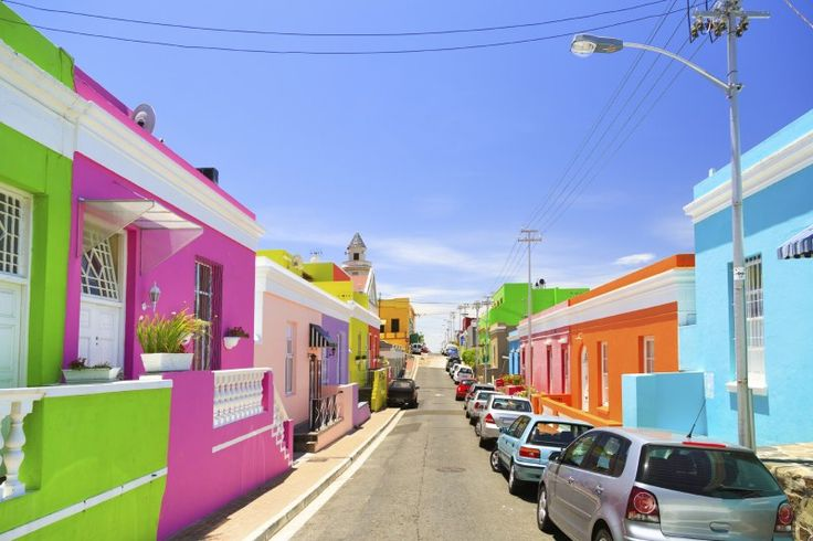 Świat jest pełen kolorów. 10 powalających miejsc, które są tego dowodem #colours #bo-kaap #summer #kolory #kapsztad #lato #city
