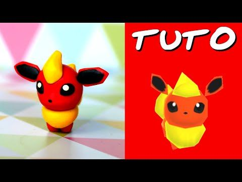TUTO FIMO | Pyroli / Flareon (de Pokémon)