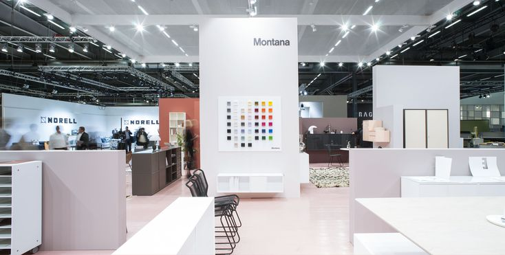 Stockholm Furniture Fair. #stockholm #montana #furniture #danish #design #shelving #system #colours #exhibition #2016sff #2016sdw