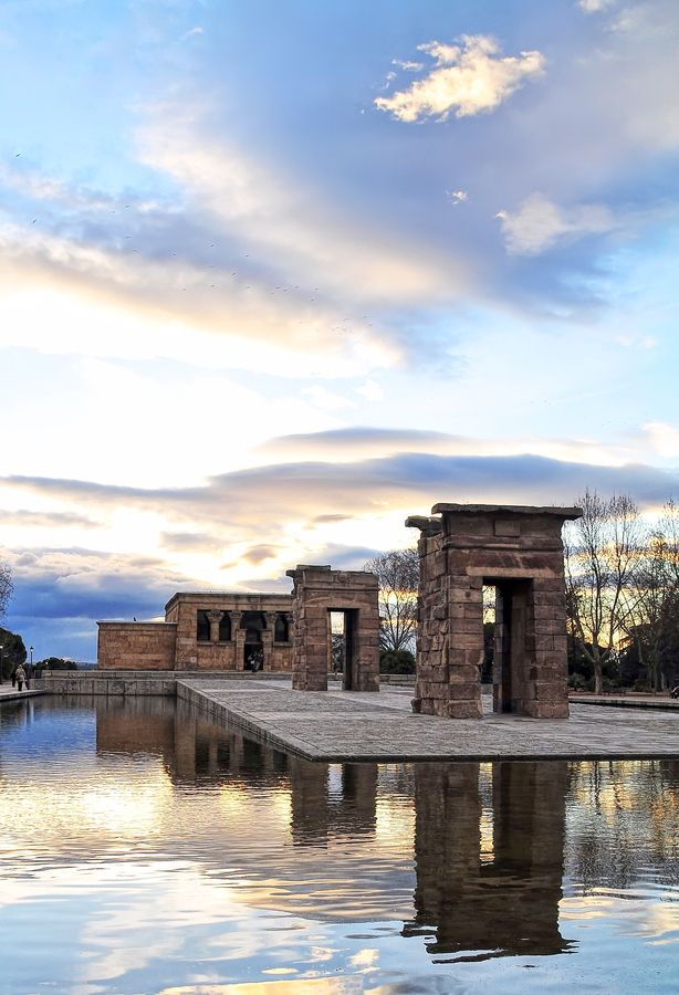 Templo de Debod in Madrid.
