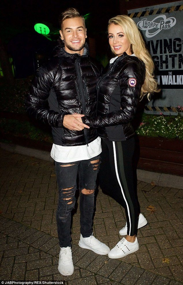 Together: The Love Island couple looked in the throes of a passionate romance as they packed on the PDA in a bid to leave the trying few weeks behind them