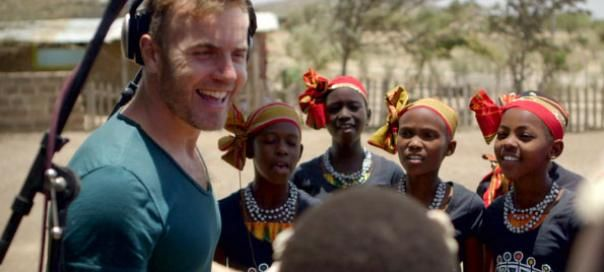 Gary Barlow and members of CommonwealthGary Barlow