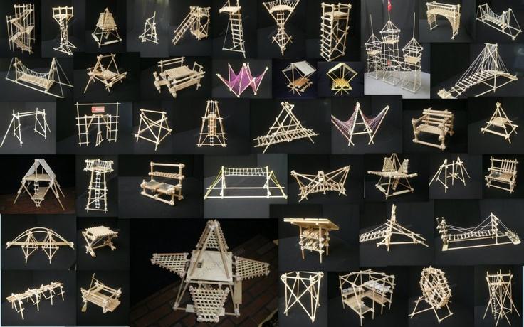 Maquetas de construcciones