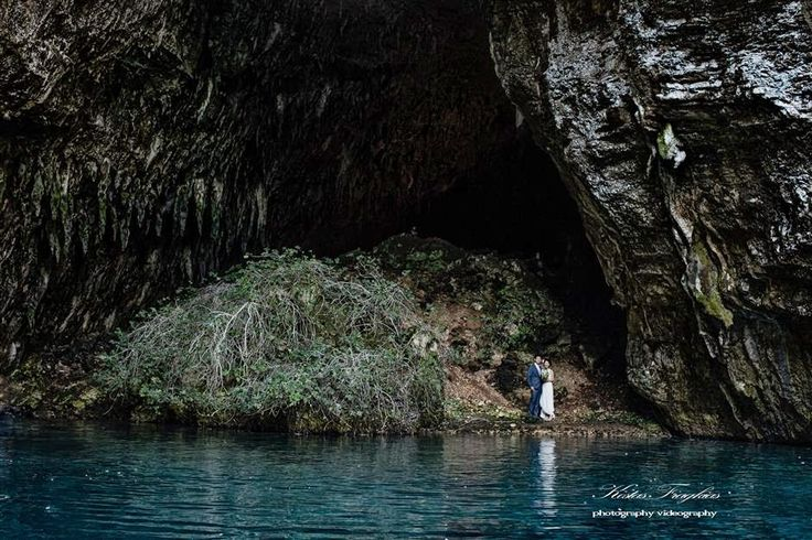 After Wedding Photography in Melissani and Karavomylos