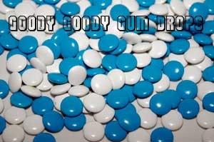 We kopen 100 zakken smarties en we eten ze allemaal op behalve de blauwe en de witte...