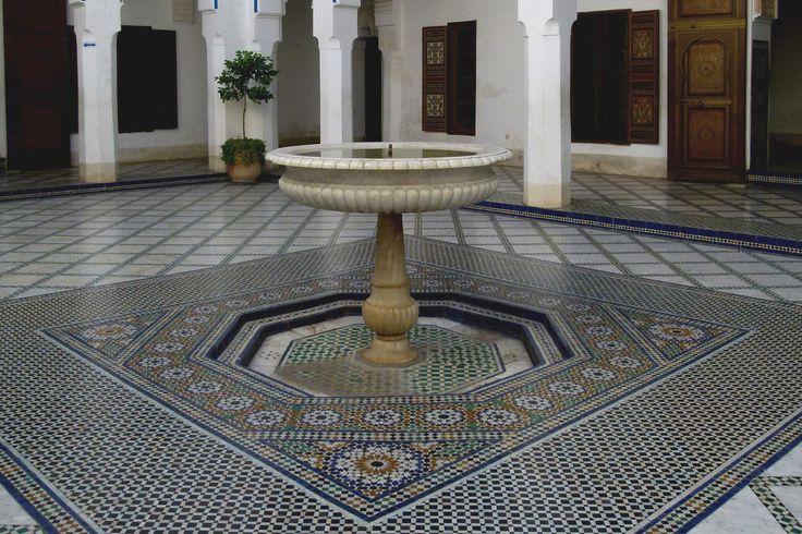 https://flic.kr/p/RD1fxz | MARRAKECH (Maroc). Marrakech-Tensift-Al Hauz. 2011. Palais de la Bahia. Detalle.