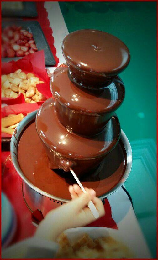 Συντριβάνι σοκολάτας!!