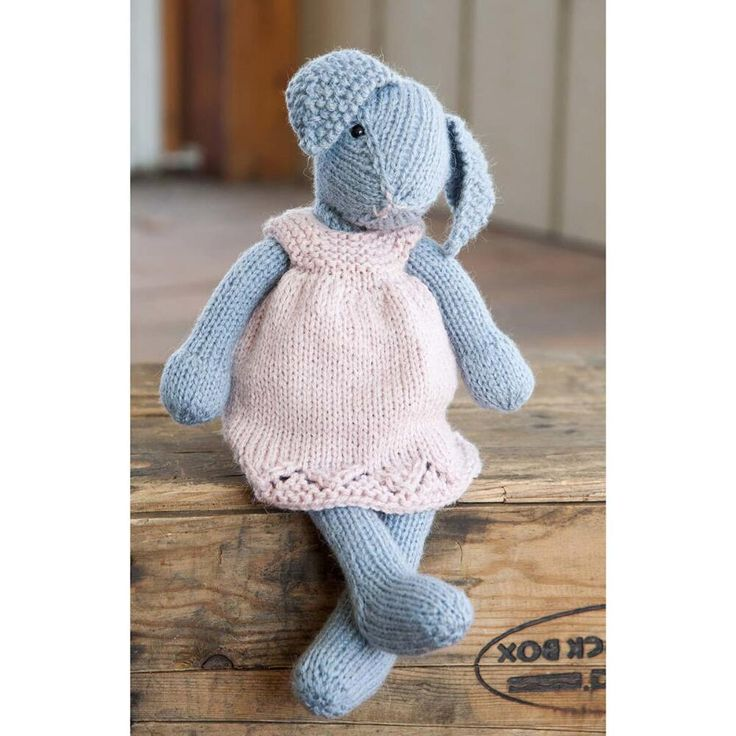 Free Knitting Patterns Stuffed Toys : 17 Best images about Free Stuffed Animal Knitting Patterns ...