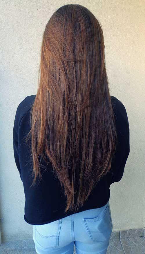 Strange 1000 Ideas About Straight Layered Hair On Pinterest Long Length Short Hairstyles For Black Women Fulllsitofus