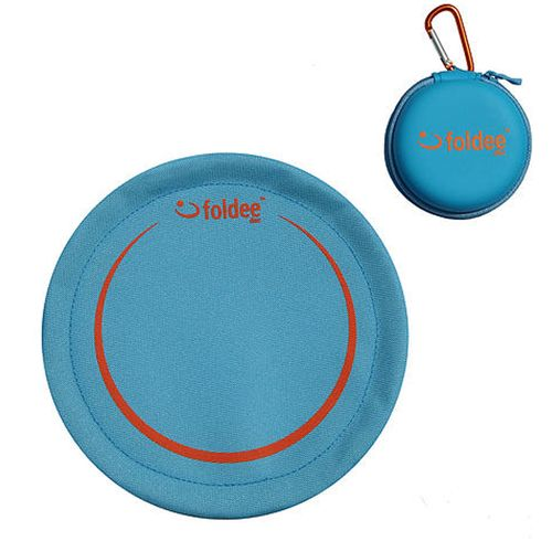 Blue Folding Frisbee by Foldee