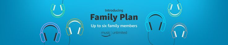 #CyberMonday #Amazon Music Family Plan #coupons #offers #discount