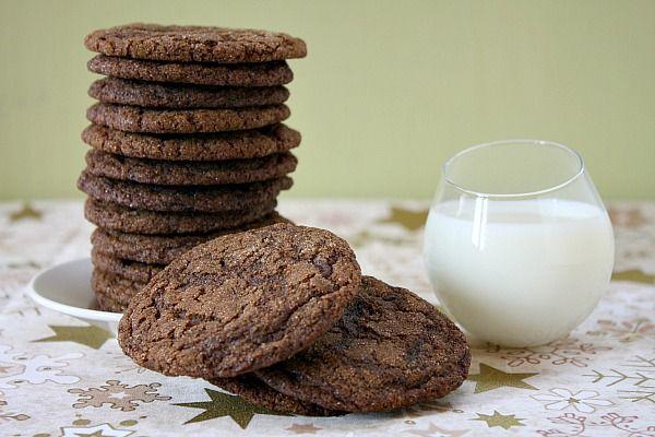 Gluten Free Molasses Crinkles Cookies   Molasses Cookies, Gluten free ...