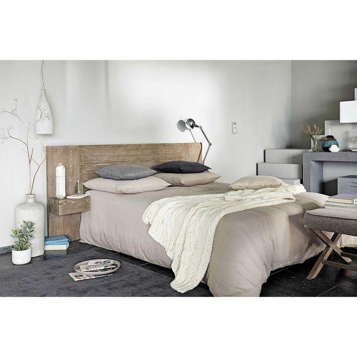t te de lit 160 inspiration a e chambre pinterest t tes de lit en bois lit en bois et. Black Bedroom Furniture Sets. Home Design Ideas