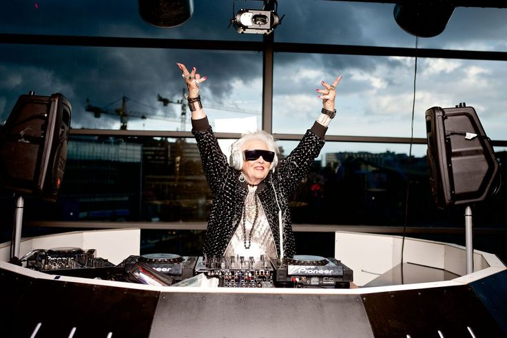 Ruth Flowers decided to become a DJ at 68 with no prior experience whatsoever. She enjoyed flying around the world performing at popular clubs, until her death in May 2014.