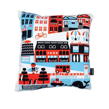 Manly Cushion Cover - Australian Made Gifts & Homewares Bits of Australia