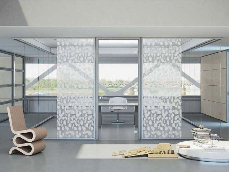 17 migliori idee su pareti divisorie su pinterest pareti - Parete divisoria in vetro ...