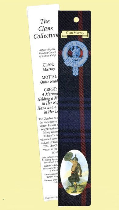 For Everything Genealogy - Murray Clan Tartan Murray History Bookmarks Set of 2, $3.00 (http://www.foreverythinggenealogy.com.au/murray-clan-tartan-murray-history-bookmarks-set-of-2/)