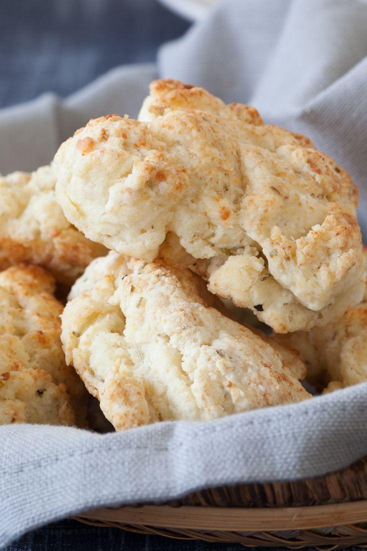 GlutenFree Focaccia-spiced Biscuits