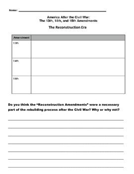 constitutional amendments worksheet worksheets releaseboard free printable worksheets and. Black Bedroom Furniture Sets. Home Design Ideas