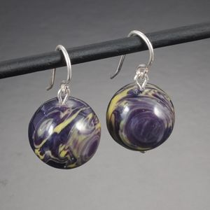Pretty Things: Earrings Made With Recycled Bowling Balls