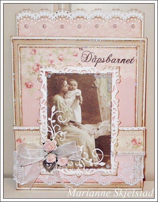 Dåpskort - Pion Design