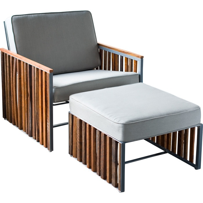 Dempsey Lounge Chair & Ottoman Set
