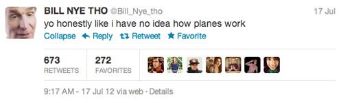Bill Nye Tho Twitter
