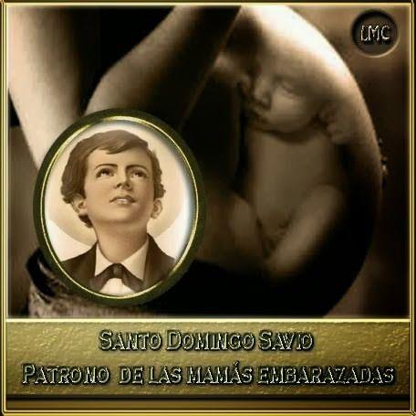 BLOG CATÓLICO GOTITAS ESPIRITUALES: ORACIONES A SANTO DOMINGO DE SAVIO, PATRONO DE LAS EMBARAZADAS
