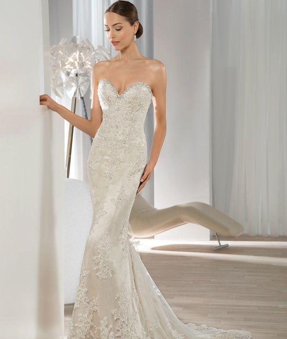 Dimitri Wedding Gowns: Demetrios Wedding Gowns Style 604, 2016 Collection, Bridal