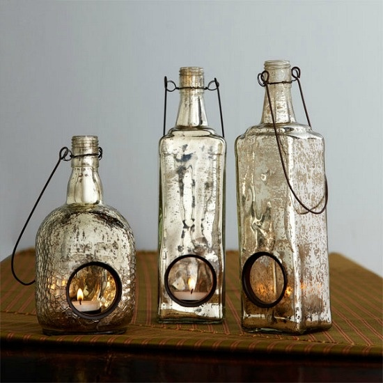 How To Update Glass Lamp With Mercury Paint