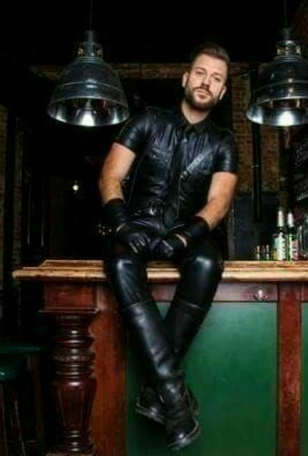 Pin by Michael on Outfitting Mens leather clothing