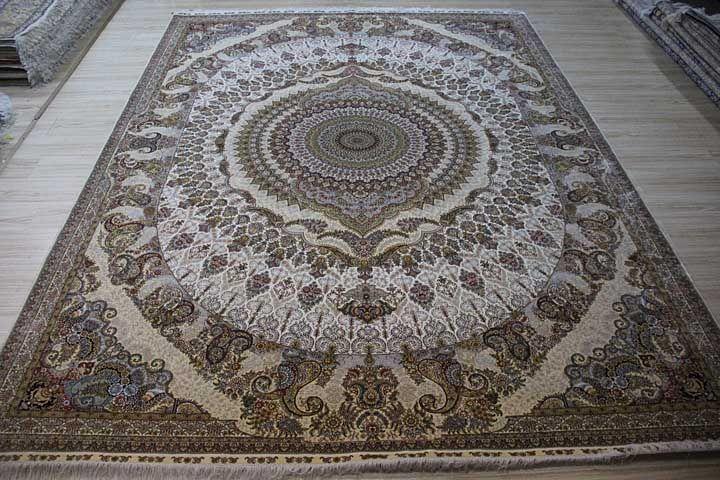 New finished 9x12 silk carpet Hand knotted, kpsi 367 Yile Silk Carpet Company www.ylrug.com, info@ylrug.com WhatsApp & Viber: +86-13849180658