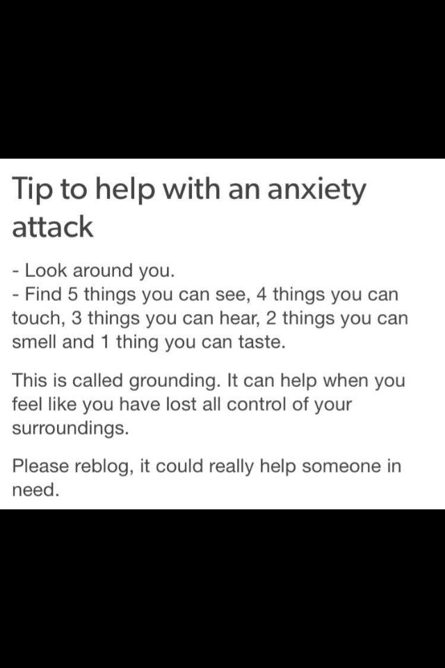 This could help me in the rare situations where i have bad anxiety attacks.