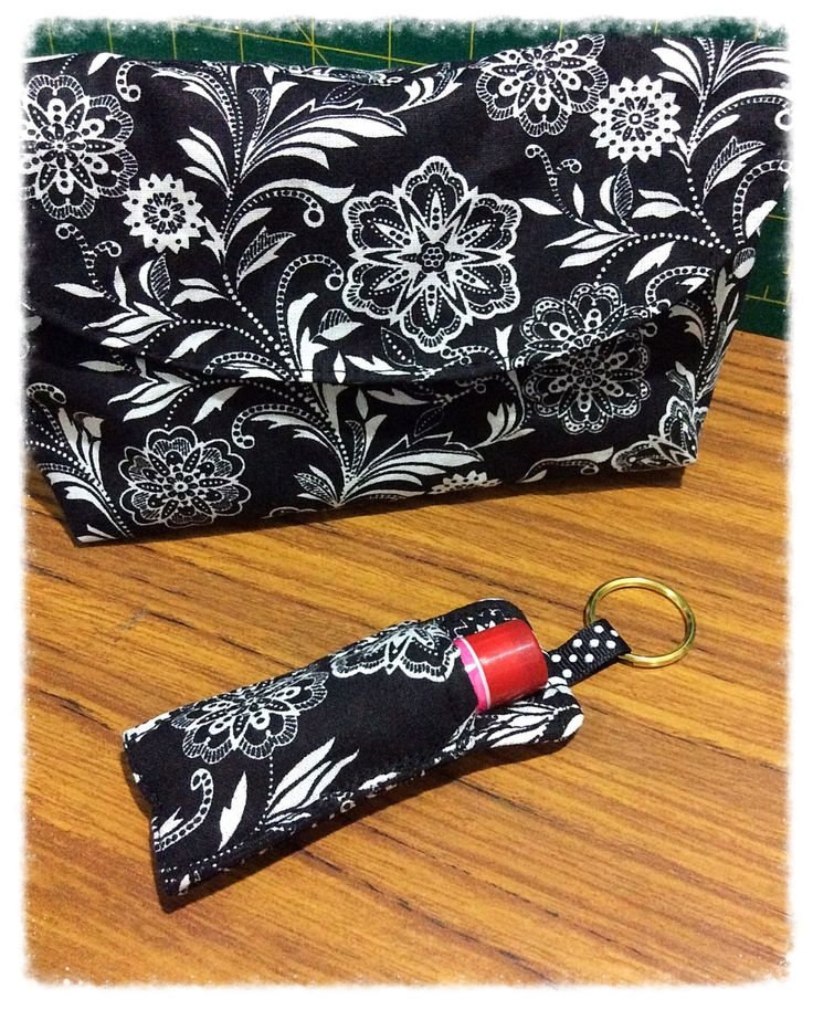 Make up bag, Cosmetic bag, Bridesmaid gift, Bridesmaid  clutch with matching Lip gloss keyring by FengsCreations on Etsy