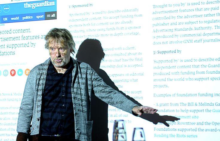 VGs sjefredaktør og direktør Torry Pedersen. (Foto: Gard L. Michalsen)