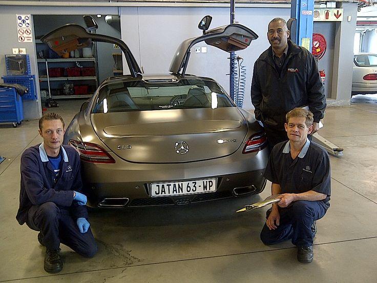 Rola Motors | Service Team | Mervin Abrahams, Danie Le Roux and Petrus Venter