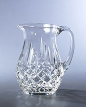 Waterford CrystalCrystals Pitcher, C2646 Waterford, Waterford Pitcher, Crystals Clear, Beautiful Glassware, Waterford Crystals, Classic Waterford, Crystals Lismore, Crystals Glasses